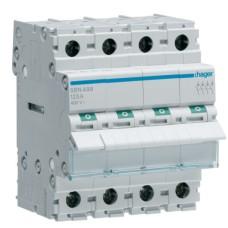 Вимикач навантаження Hager SBN499 4P 125А/400В 4м