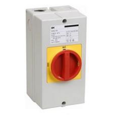 Кулачковий перемикач IEK BCS33-063-1 ПКП63-13/К 63А (відкл-вкл) 3Р/400В IP54
