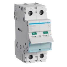 Вимикач навантаження Hager SBN280 2P 80А/400В 2м