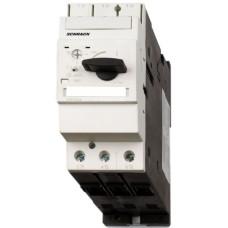 Силовий автомат захисту двигуна Schrack BES25000 50кА 50А клас 10 розмір 2