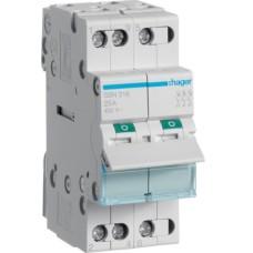 Вимикач навантаження Hager SBN316 3P 16А/400В 2м