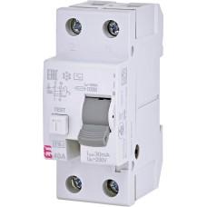 Пристрій захисного відімкнення EFI6-2 2п 40А 30мА ETI