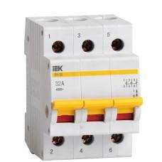 Вимикач навантаження IEK MNV10-3-032 ВН-32 3Р 32А