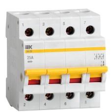 Вимикач навантаження IEK MNV10-4-025 ВН-32 4Р 25А