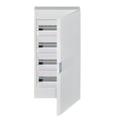 Електрощит Hager Vega VB418PB 72M з білими дверцятами