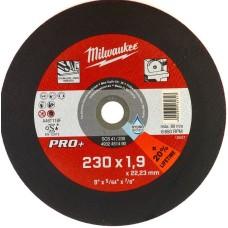 Тонкий відрізний диск по металу MILWAUKEE 4932451490 PRO+ SC41/230