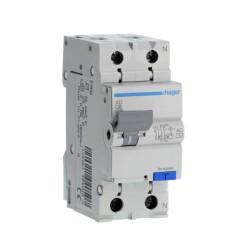 Вимикач автоматичний диференційний Hager AD875J 25 А 1+N,