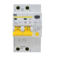 Диференційний автоматичний вимикач IEK АД12М 2Р, С50,30мА