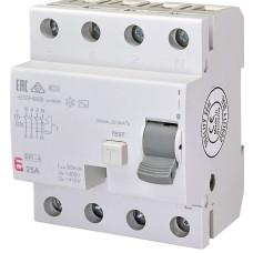 Диференційне реле (ПЗВ) EFI-4 4п 25A 30мА ETI (2062142)