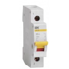 Вимикач навантаження IEK MNV10-1-020 ВН-32 1Р 20А