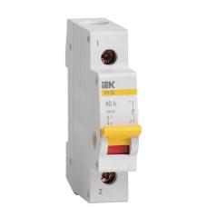 Вимикач навантаження IEK MNV10-1-040 ВН-32 1Р 40А
