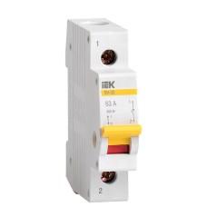 Вимикач навантаження IEK MNV10-1-063 ВН-32 1Р 63А
