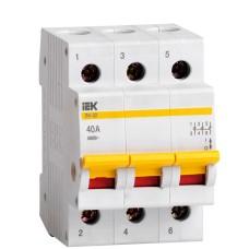 Вимикач навантаження IEK MNV10-3-040 ВН-32 3Р 40А