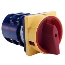 Кулачковий перемикач IEK BCS22-063-3 ПКП63-22/У 63А (1-2) 2Р/400В