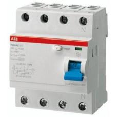 ПЗВ ABB F204 AC-40/0,3,40 А, 300 мА, AC