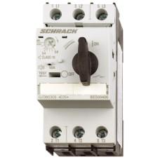 Силовий автомат захисту двигуна Schrack BES00400 100кА 4А клас 10 розмір 0