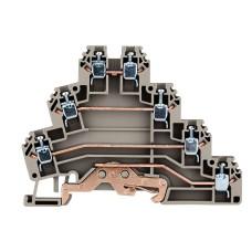 Трьохрівнева клема Schrack IK680003 3P+P тип PUK3T 2,5мм²