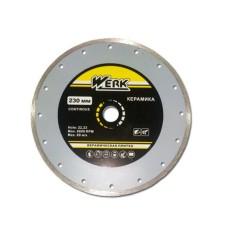 Алмазний диск Werk 230x6x22,2мм