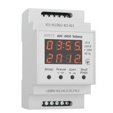 Реле часу циклічне ADECS ADC-0432 175-260В 11 режимів