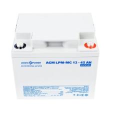 Акумулятор LogicPower AGM LPM-MG 12-45 AH 12В