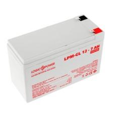 Акумулятор LogicPower LPM-GL 12-7 AH 12В