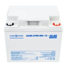 Акумулятор LogicPower AGM LPM-MG 12-40 AH 12В