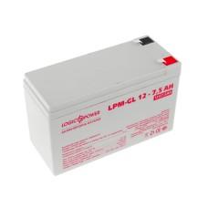 Акумулятор LogicPower LPM-GL 12-7,5 AH 12В
