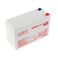 Акумулятор LogicPower LPM-GL 12-7,2 AH 12В