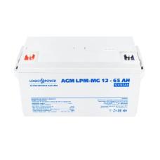 Акумулятор LogicPower AGM LPM-MG 12-65 AH 12В