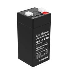Акумулятор LogicPower AGM LPM 4-4 AH 4В