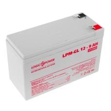 Акумулятор LogicPower LPM-GL 12-9 AH 12В