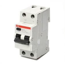 Диференційний автоматичний вимикач ABB BASIC M 1Р+N 16А 4.5кА