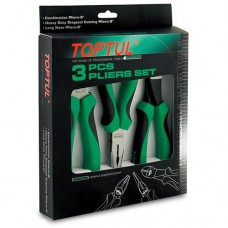Набір шарнірно-губцевого інструменту TOPTUL 3од. GAAE0307