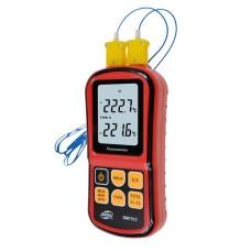 Термометр цифровий двухканальний -250-1767°C BENETECH GM1312