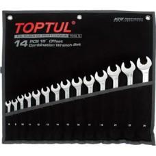 Набір комбінованих ключів 8-24 мм TOPTUL 14 шт. Dynamic GPAQ1402
