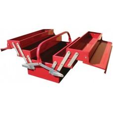 Ящик для інструменту металевий 5 секцій 495x200x290 TORIN TBC122B
