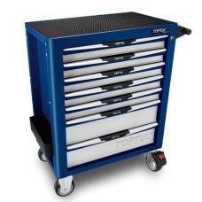 Візок для інструментів на колесах TOPTUL (Pro-Plus) 7 секцій (Синій) TCAL0704