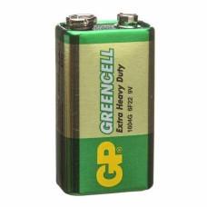 Батарейка сольова 6F22, 1604G (крона) 9В Greencell GP