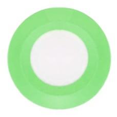 LED Panel (круг) AL525 3W 240Lm 5000K 90*26мм (вбуд.75мм) 15LED зелений Feron