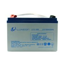 Акумулятор гелевий 12В/100Аг LX12-100G LUXEON