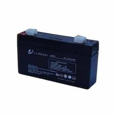 Акумулятор гелевий 6В/1,3Аг LX613 LUXEON