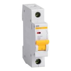 Автоматичний вимикач BA47-29 1p С 6A IEK