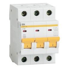 Автоматичний вимикач BA47-29 3p 10A IEK
