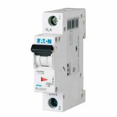 Автоматичний вимикач PL6-B16/1 16А 1п. Eaton