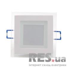 Світильник LED Panel (квадр.) 6W 3000K 220V скло EUROLAMP