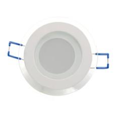 Світильник LED Panel (кругл.) 6W 3000K 220V скло EUROLAMP