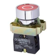 """Кнопка XB2-BA4322 1NC червона """"О"""" АскоУкрем"""