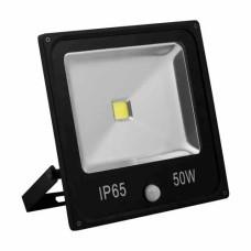 Прожектор LED 50W + датчик руху 6400K 230 V LL-863  Feron