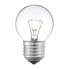Лампа куля 40Вт Е27 прозора Р45 гофра