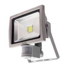 Прожектор LED 10Вт + датчик руху 6500K  IP65 LMPS10 Лемансо